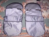 Cositoes to fit Mothercare double buggy. In very good condition £25 is for both