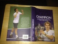 Andy Murray - champion book