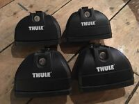 Thule Footpack & Fitting Kit 753/4024 x4. To fit Ford Focus Mk3 with Flush Rails. 2x Spare Keys.