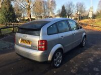 2003 03-Reg Audi A2 1.6 FSI SE 5dr, Long MOT, Full Service History, Immaculate Condition