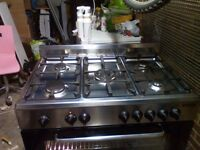 Hi I have for sale nice dual fuel range cooker with electric oven.