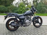 Zontes tiger 125cc motorcycle