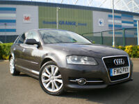 2012 Audi A3 1.6 TDI Sport 5dr Hatchback * Full SERVICE HISTORY * 3 Months WARRANTY