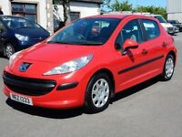 2007 peugeot 207 1.4 hdi with only 61000 miles, motd until feb 2017 all cards welcome
