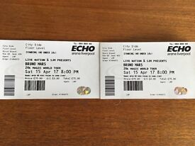 2x BRUNO MARS TICKETS FOR SALE