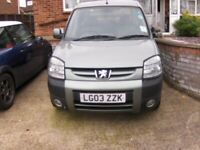 Peugeot, PARTNER COMBI, MPV, 2003, Manual, 1587 (cc), 5 doors