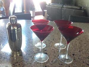 Wine, Martini Glasses, Decanters - 25+ ITEMS