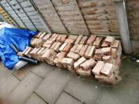 Free bricks from internal wall and chimney stack