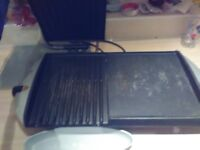 Large George forman lean fat grilling machine
