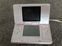 NINTENDO DS CONSOLE WITH 11 GAMES