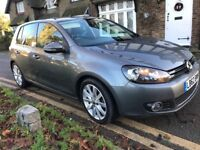 Vw golf 2.0 gt tdi auto 2012/62 fsh,leather, 2 keys showroom condition p-ex welcome