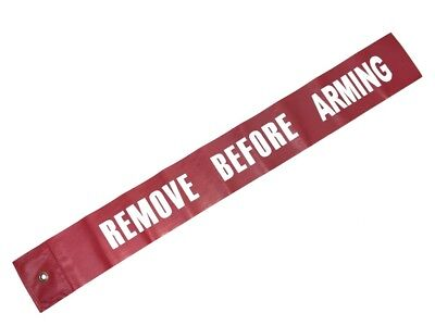 US Remove Before Arming Tag Military-Official