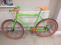 Custom built Fixie/single speed bike