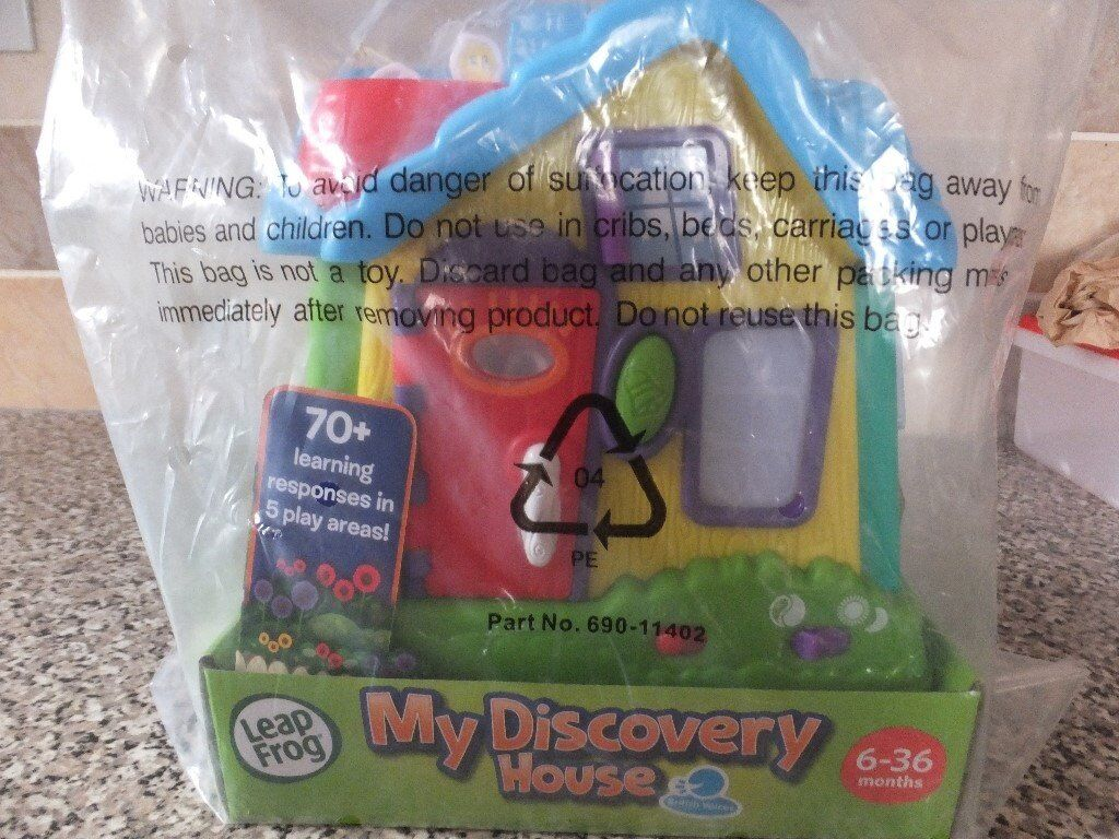 Leap Frog My Discovery House - 6-36 months. Brand new in packaging