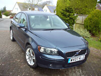 2007 Volvo S40 1.6D SE, privately owned from new, full Volvo service history, abs fabulous condition