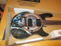 Peavey Marvel 'Captain America' 6 string electric guitar