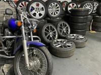 "18"" inch genuine ronal alloys wheels 5x112 Vw caddy golf gtd Passat cc scirocco"