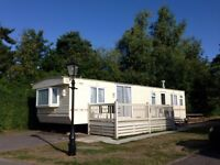 Super 2 Bedroom Willerby Caravan near Bournemouth with GCH, Double Glazing and Decking OFFSITE ONLY