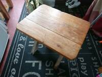 Small cross leg table