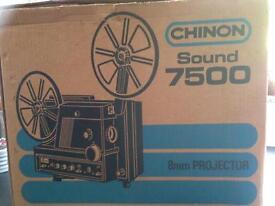 CHINON SOUND 7500 8mm Projector