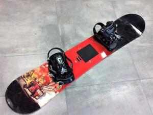 Snowboard Planche à neige 5150 Reaction 138cm + Fixations 5150   #F019385