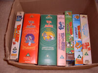 TOM AND JERRY VIEOS - SHOP ALL ORIGINALS IN THERE BOXES.