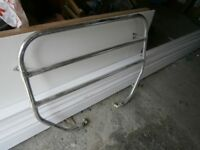 Victorian style towel rail