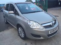 Vauxhall Zafira 1.9 CDTi 16v Design 5dr 6 MONTH WARRANTY,12 MONTH MOT