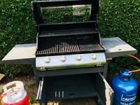 John Lewis 4 ring gas BBQ- NOW SOLD