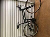 Montague Fit folding full size road bike.