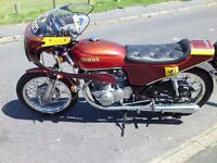 Honda 350 K4 1973 only 7900 miles and 1 previous owner