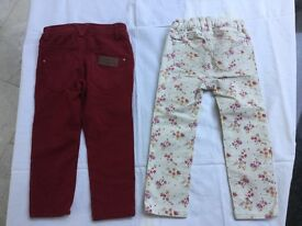 Girls trousers age 3
