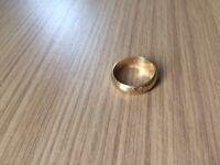 Male Wedding Ring - 18 carat with 3 diamonds