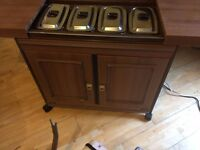 PHILIPS HB033 LB ELECTRIC HOSTESS TROLLEY IN GOOD CONDITION.