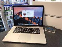 """MacBook Pro 2013 15"""" Retina Display Intel Core i7 Quad 2.7GHz 16GB RAM 512GB SSD"""