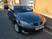 Lexus is220 diesel grey 2006 in great condition with full mot