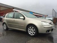 2004 VW GOLF GT FSI AUTOMATIC 5 DOOR HATCH 12 MONTHS MOT