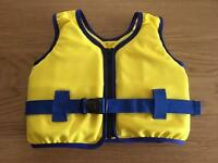 Children's Swimming Jacket size 2-4 excellent condition