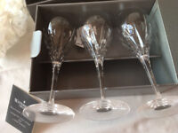 Waterord Crystal WINE GLASSES (Price REDUCED)