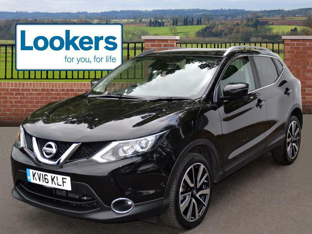 nissan qashqai dci tekna xtronic black 2016 03 01 in motherwell north lanarkshire gumtree. Black Bedroom Furniture Sets. Home Design Ideas