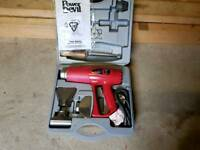 Bnib power devil hot air gun tool kit *diy, trade, work, home, Dewalt, ryobi, Milwaukee, Makita *