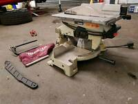 Makita chop / table saw. Good condition all there