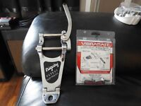 bigsby B7 plus vibramate for gibson 335 ,will swap for a line 6 delay unit ...