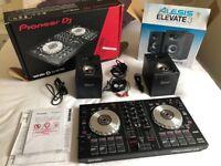 Pioneer DJ Controller & Alesis Elevate 3 Speakers