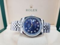 NEW!! Rolex DateJust, complete with Box, bag & paperwork. Collection/post. 1yr warranty. £140