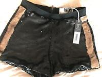 Brand new with tags, FENCHURCH SEQUINNED SHORTS! Size M