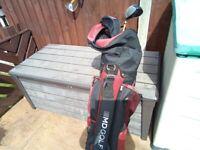 Golf clubs &bag