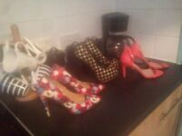 3 pairs of new high heels *£15* size 7,8 new look