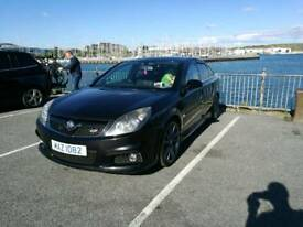 Vauxhall Vectra VXR in black