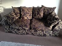 Large 3 and 2 seater sofa set